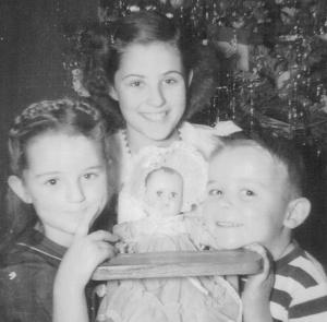 Bradbury kids christmas 1952