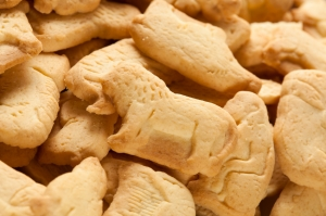 Crunchy Lemon Animal Cracker Cookies