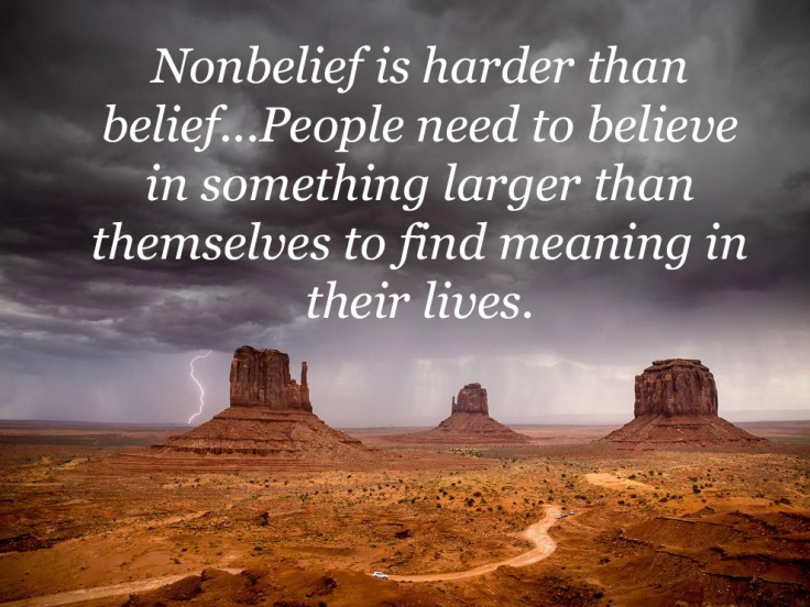 Monument Valley Belief